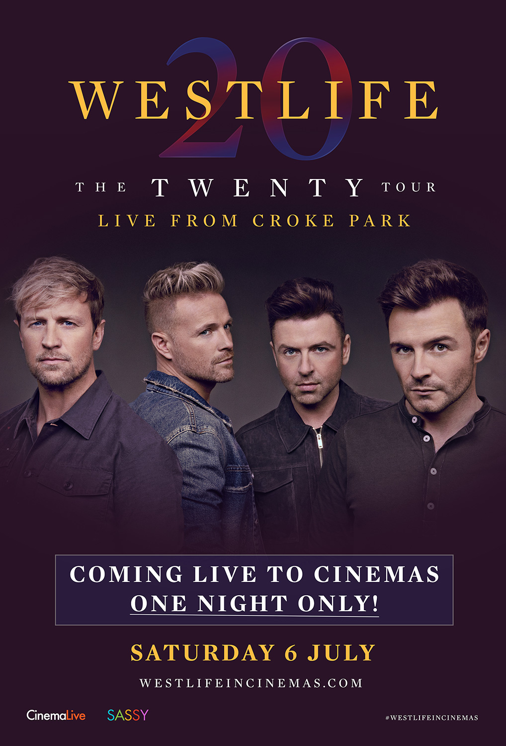 Westlife: The Twenty Tour Live From Croke Park cover