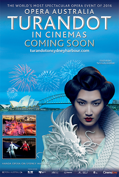 Turandot on Sydney Harbour cover