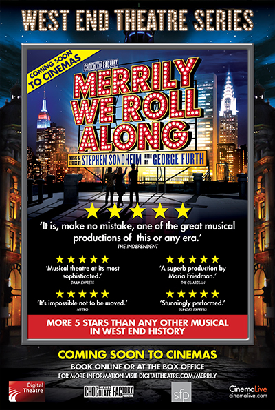 West End Theatre Series: Merrily We Roll Along cover