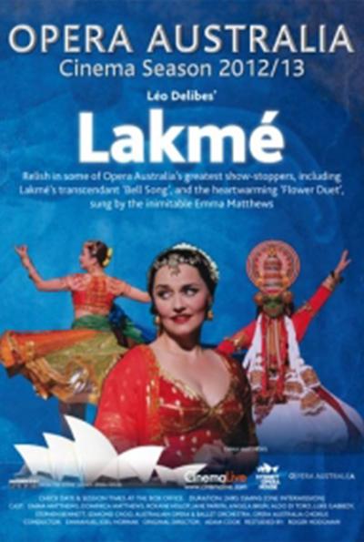 Opera Australia: Lakmé cover