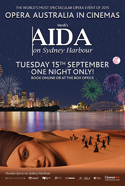 Aida on Sydney Harbour cover