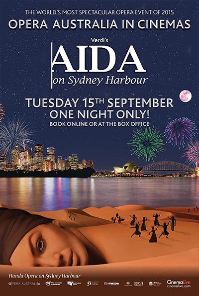 Aida on Sydney Harbour cover