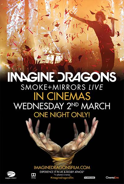 Imagine Dragons: Smoke + Mirrors Live cover