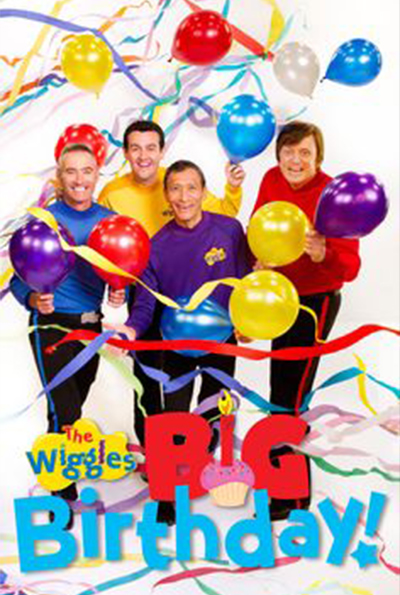 The Wiggles' Big Birthday cover