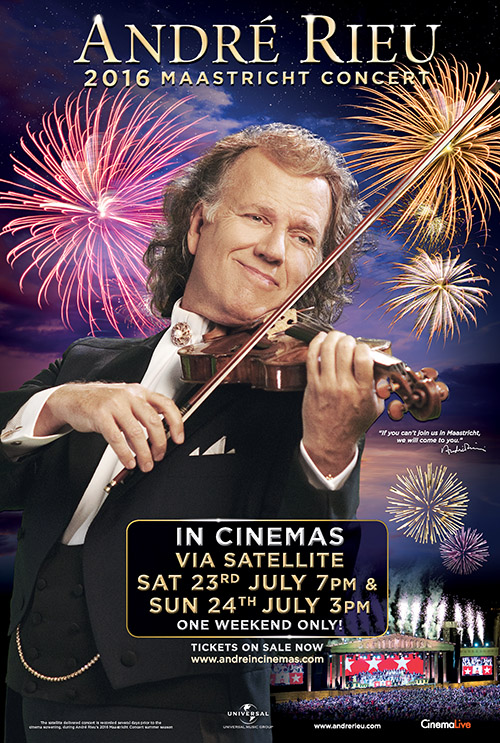André Rieu's 2016 Maastricht Concert cover