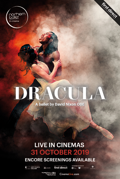 Dracula from Northern Ballet cover