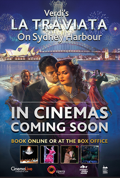 La Traviata on Sydney Harbour cover