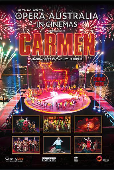 Carmen on Sydney Harbour cover