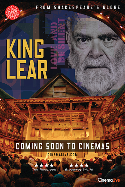 King Lear: Live from Shakespeare's Globe cover