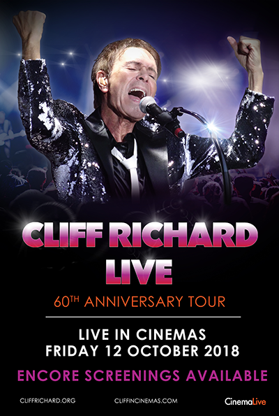 Cliff Richard Live: 60th Anniversary Tour cover