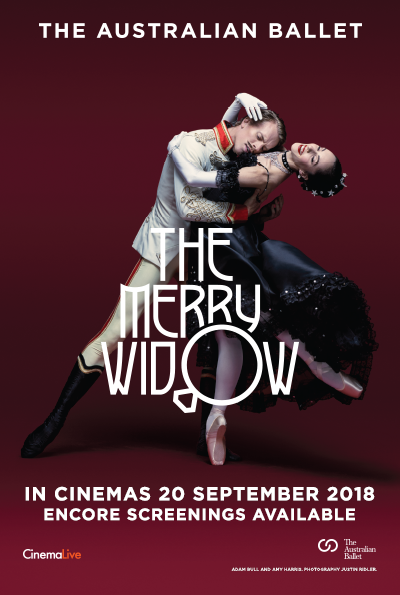 The Australian Ballet: The Merry Widow cover