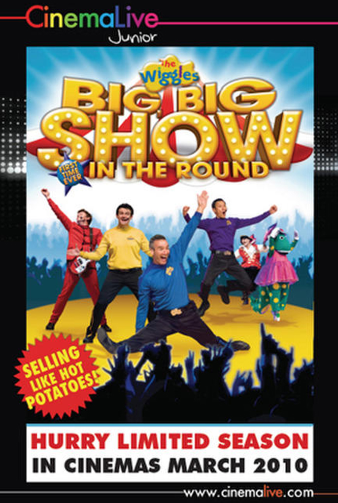 The Wiggles: Big Big Show cover