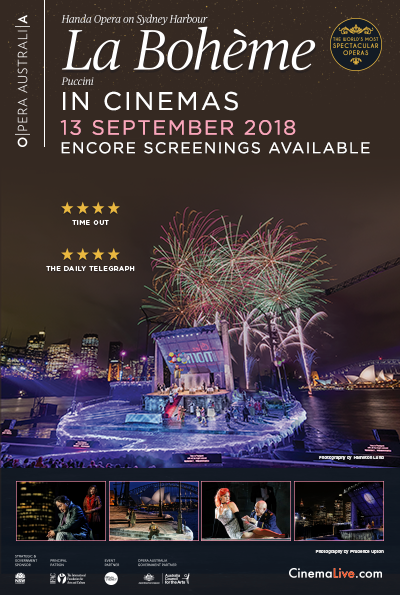 La Bohéme on Sydney Harbour (2018) cover