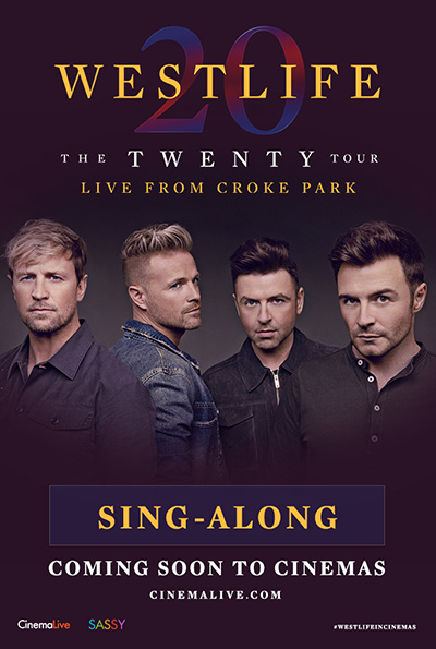 Westlife: The Twenty Tour Sing-Along cover