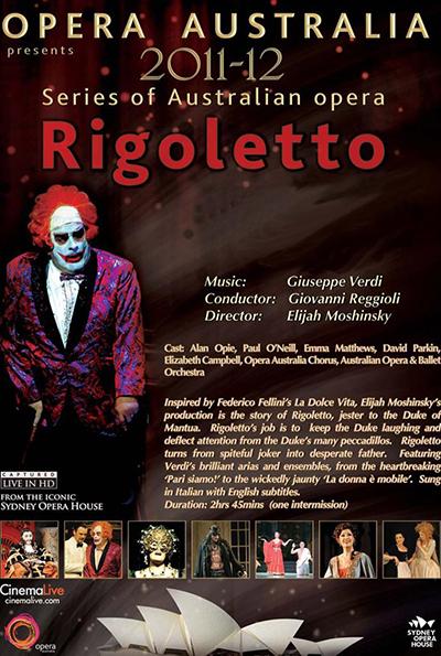 Opera Australia: Rigoletto cover