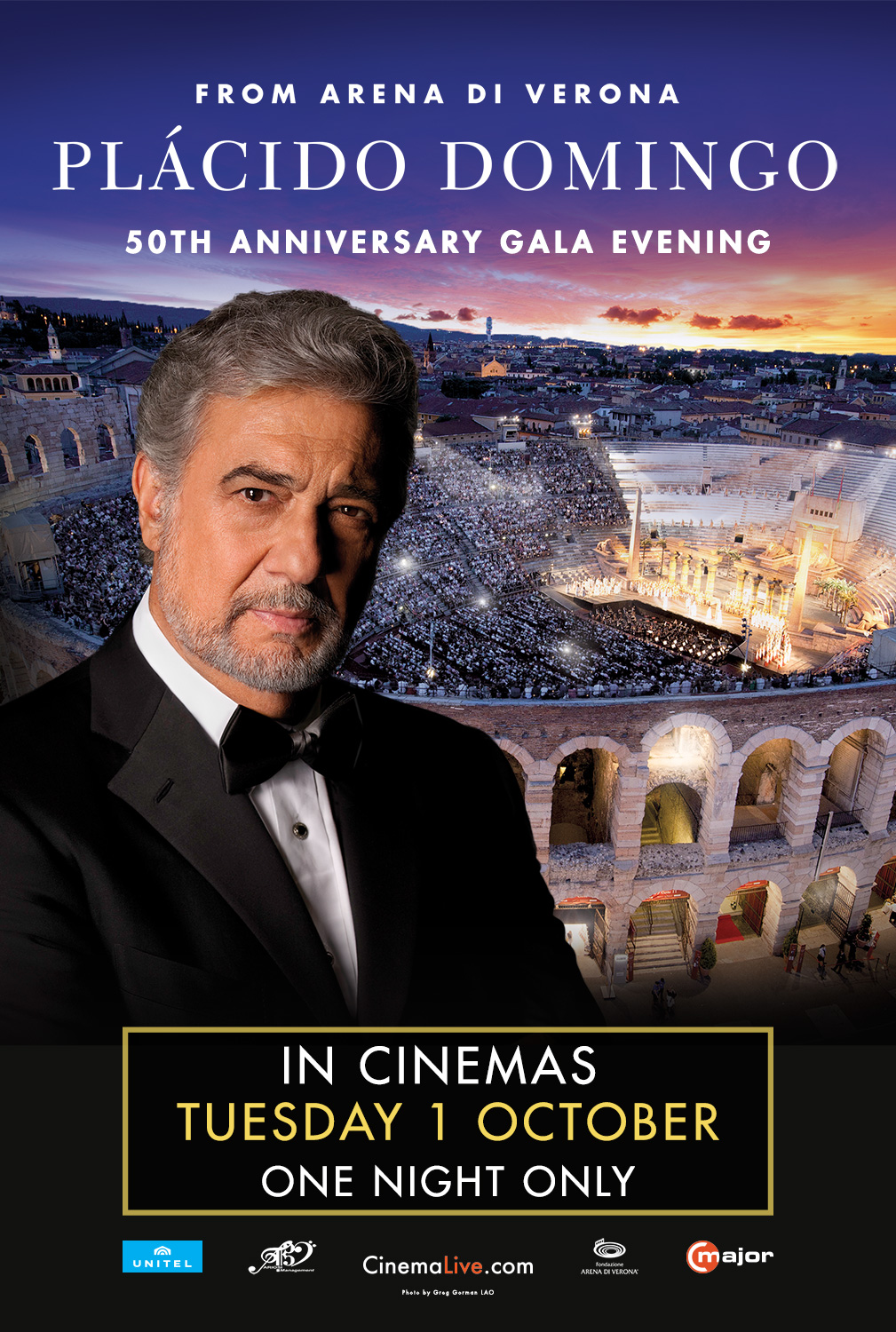 Plácido Domingo: 50th Anniversary Gala Evening cover