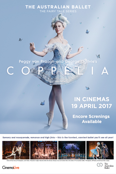 The Australian Ballet: Coppélia cover