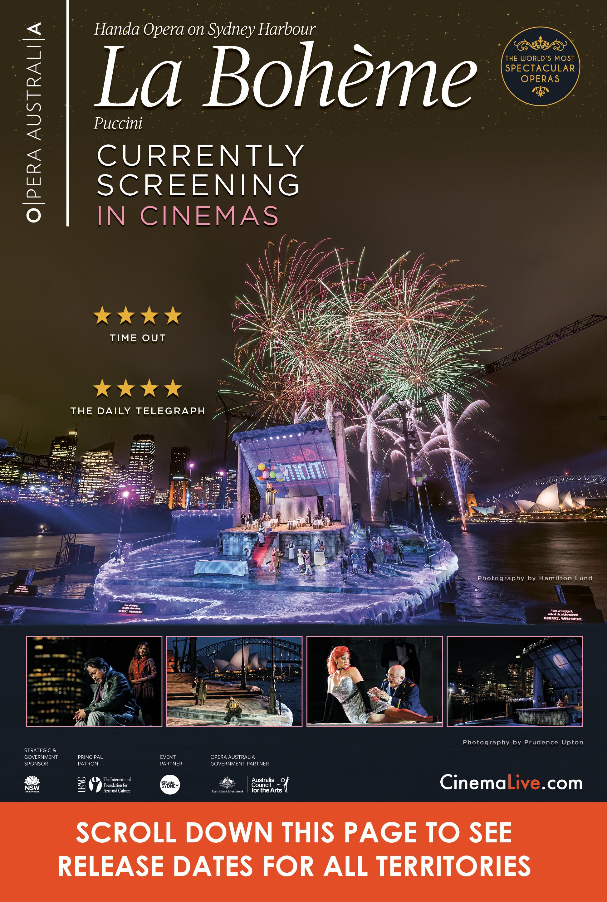 La Bohéme on Sydney Harbour (2018) cover