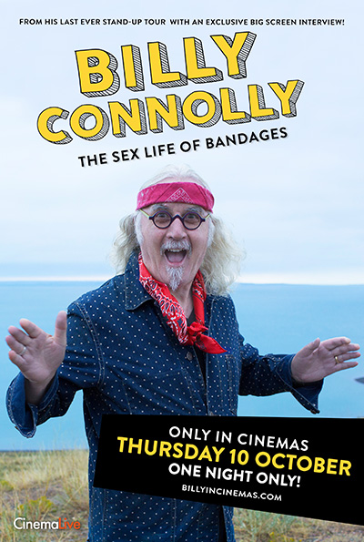 Billy Connolly - The Sex Life of Bandages cover