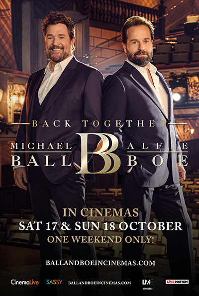 Michael Ball and Alfie Boe: Back Together cover