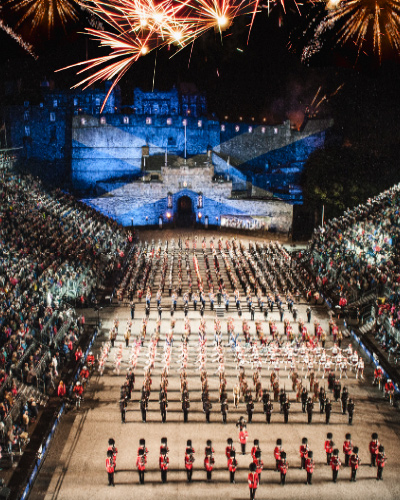 The Royal Edinburgh Military Tattoo 2018 cover