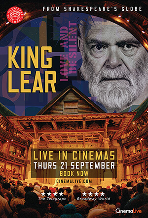 King Lear: From Shakespeare's Globe cover