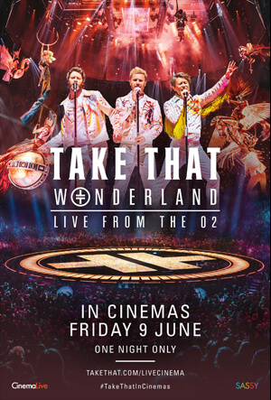 Take That: Wonderland Live from the O2 cover
