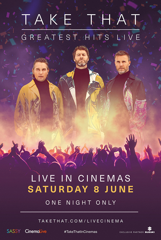Take That: Greatest Hits Live cover