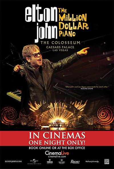 Elton John: The Million Dollar Piano cover