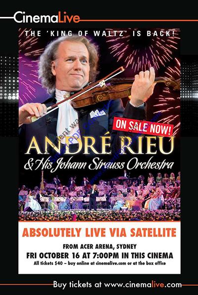 André Rieu: Australia's Arena Tour cover