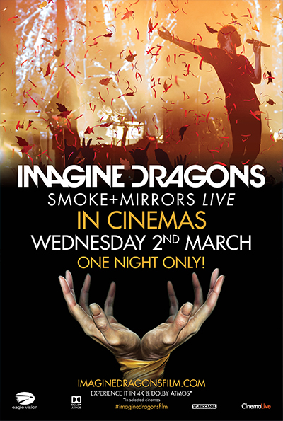 Imagine Dragons: Smoke + Mirrors Live cover