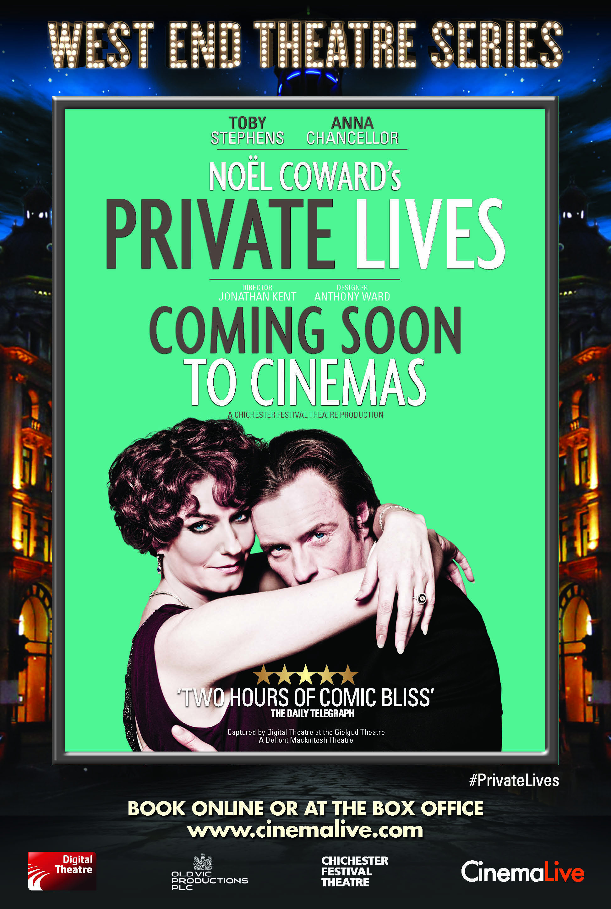 West End Theatre Series: Noël Coward's Private Lives cover