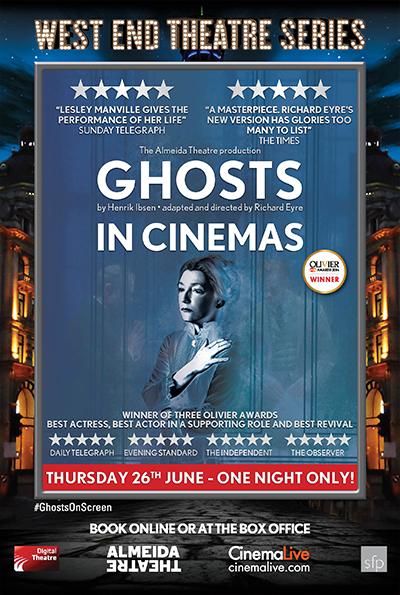 West End Theatre Series: Ghosts cover
